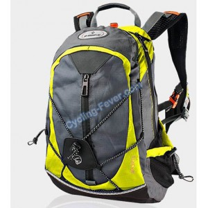 Inbike Comfortable Cycling Backpacks With Rain Cover - Yellow