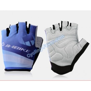 Inbike Cool Cycling Gloves Blue - L Size