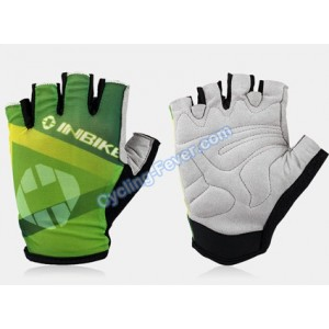 Inbike Cool Cycling Gloves Green - L Size