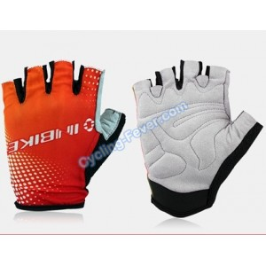 Inbike Cool Cycling Gloves Red - L Size