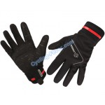 Lambda High Quality Full Finger Black Cycling Gloves - L Size