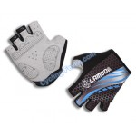 Lambda Cool Half Finger Blue Cycling Gloves - L Size