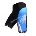 Lambda Typhoon Printing Cycling Shorts For Men - XL Size
