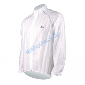 Lambda High Quality Breathable Transparent Cycling Raincoat - M Size