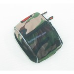Sola Camouflage Front Bag With Rain Cover